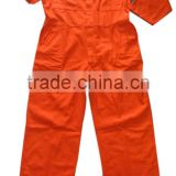Professional Orange 100% Cotton Fire Proof Flame Retardant Workwear FR Fire Retardant Clothing