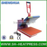 Hot sale small size manual heat press sublimation transfer machine