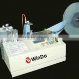 automatic velcro tape straight round cutter