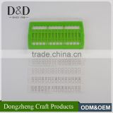 High quality functional plastic row line tool knitting needle set for cross stitch accessory