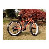 High Speed 1000W Electric Fat Bike 26 x 4.0 Fat Tyre Bicycle With Comfort Saddle