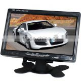 Car rearview mirror car monitor with 7 TFT-LCD