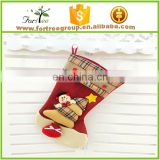 2016 burlap christmas stockings plush