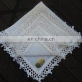 handkerchief with lace edge for ladies