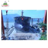 Marine inflatable rubber airbag for ship launching
