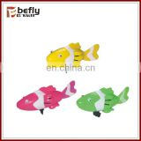 Promotional wind up kids plastic fish toys
