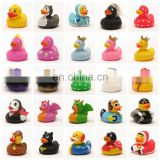 Promotional cheap christmas rubber duck, custom vinyl floating rubber ducks, bulk superman rubber ducks wholesale