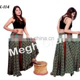 Hippie Style Belly Trousers Pants- indian tribal umbrella palazzo pants - Indo Western Women's Harem Ethnic Palazzo Pant
