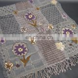 Wool Embroidery Scarf in Latest Designs and Colors