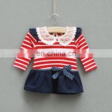 Wholesale baby kids Ruffle Party Dresses High Quality New Model Girl Dress Custom Clothing Girls Dress Clothes