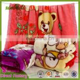 Factory Direct High Quality Printed Kids Flannel Blanket