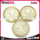 High performance silver gold coins