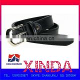 102 x 3cm Genuine Leather Belt with 50 x 35mm Alloy Buckle with One Rivet, OEM Orders are Welcome