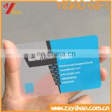 2015 customized PVC plastic transparent buiness card /VIP card