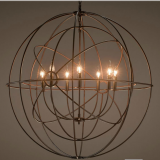 2017 NEW STLYE pendant light fixtures wrought iron chandelierwith CE,UL listed