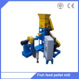 Floating fish feed pellet extruder machine / pet food machine floating fish feed extruder