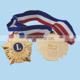 custom china military medal with ribbon