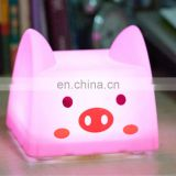 Mini Cartoon Night Light Pat Light, Press Lamp