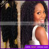 8a Unprocessed Raw Virgin Human Hair Braiding Bulk 100% Undye Hair No Weft Bulk Human Braiding Hair Can Bleach To Blond Color