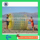 Wholesale cheap inflatable water game, inflatable rolling ball, inflatable water roller for beach