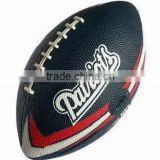 Rubber American Football With PU, Customized Logos and Sizes
