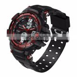 Hottest Waterproof Watches Relogio Masculino Electronic wristwatch Men Silicone Sport Watch Reloj Shockproof mens watch for men