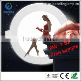 High Quality 12watt LED Panel Lamp with CE RoHS certification,6W 9W 12W 15W 18W 24W round led panel lamp