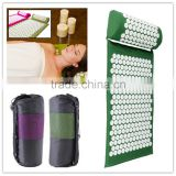 ECO friendly back pain muscle relaxation combo acupressure mat and pillow