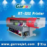 10feet 1440 dpi digital eco solvent printer,roll to roll digital canvas printing machine for sale