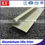 Aluminium laminate floor transition strips tile trim