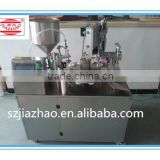 Ultrasonic Plastic Soft Tube Filling and Sealing Machine with welding sealing