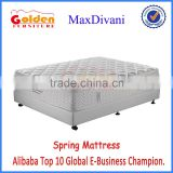 Foshan Furniture Gold Supplier New Design Pocket Spring Mattress with Natural Latex Memory Foam PillowTop 6807#