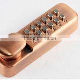 OSPON Mechanical Keyless Lock Exterior Door Hardware Antique Copper OS2200B-Antique copper