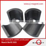 rare earth arc magnet ferrite magnet Y25 for wiper motor                                                                                                         Supplier's Choice