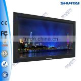 32 inch wall mounting advertising media player magic mirror usb network I3 wifi 3G media player magic mirror