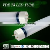 600mm 1200mm 1500mm Frosted 180 degree rotatable base t8 led tube 86-265v/ac with VDE,TUV certification
