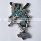 custom metal baseball lapel pin