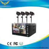 cheap cctv camera kit! Easy to install in one kit 4CH Security cctv dvr system With 4 colour CMOS Camera