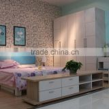 Factory Directly Wholesale King Size Natural Wood Bedroom Sets (SZ-BFA8002)