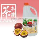 Wholesale Bubble Tea Passion Fruit Flavour Concentrated Syrup For Drinks