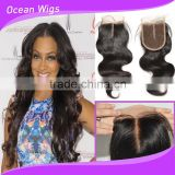 indian virgin silk base lace top frontal closure
