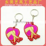 Customized Soft PVC car logo key chain