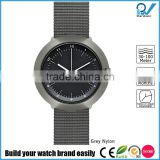 lP grey case nylon strap 3ATM water resistance tempered mineral glass 3 year lifespan watch