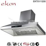 SAA ETL Approved 2000m3/hr 150cm Twin Motors Commercial Stainless Steel Outdoor Barbeque Range Hood