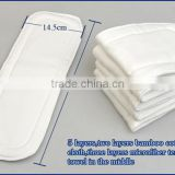 Organic Bamboo Cotton Insert For Baby cloth Diaper