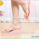 Guangzhou shoes factory Wholesale newest style women summer high heel flip flops                                                                         Quality Choice