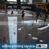 Custom size PP 3d floor decals