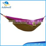 Outdoor light weight double nylon parachute camping hammock                                                                         Quality Choice