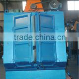 High efficiency metal crawler shot blasting machine used for casting surface cleaning and strengthening