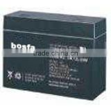 maintenance free high rate 12v5.5ah black battery